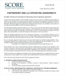 Operating Agreement Template 8 Free Word Documents Download ...