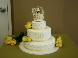 Wedding Cakes Tiered 50th Wedding Anniversary Cakes Design