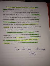 football definition essay   best essay picture