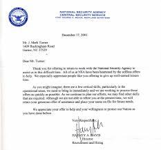 Resume Rejection Letter Nsa Job Rejection Letter Mark Turner Dot Net