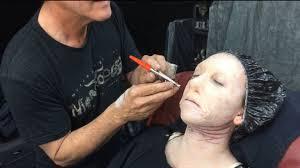 behind the lens up close with an academy award winning makeup artist video abc news