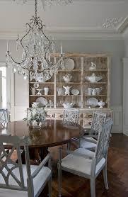 distressed hutch cabinet