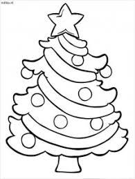 Kleurplaat Kerstboom 2 De Mooiste Kleurplaten Militonl