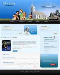 Church Website Templates Impressive Christian Church Website Templates Free Download Church Website