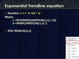 Computing Trendline Values In Excel Charts
