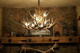 antler chandelier got to