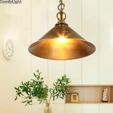 copper pendant lamp industrial lighting holder retro hang lamp copper pendant light copper pendant lamp shade
