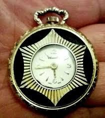 vintage chancellor las pendant watch
