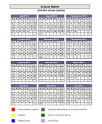 Printable School Year Calendars School Calendar 2019 2020 2021 Academic Calendar Templates