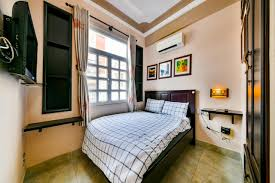 Bedroom With No Light Homestay Dist 3 Cozy Private Room With Nature Light No 1