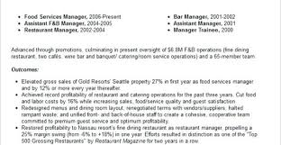 assistant manager skills restaurant manager duties for resume restaurant manager skills
