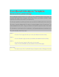 Amotization Calculator Cost Benefit Analysis With Amortization Calculator Templates