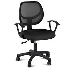 Fabric office chairs with arms Swivel Chair Yaheetech Adjustable Swivel Computer Desk Chair Fabric Mesh Office Chair With Arms Seating Back Restblack Walmartcom Walmart Yaheetech Adjustable Swivel Computer Desk Chair Fabric Mesh Office