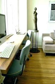 double office desk. Office Desk For Two Double Sided Home Workstation Small Space Ideas