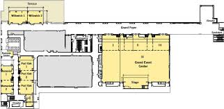 Venue Capacities Golden Nugget Lake Charles Golden