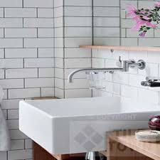 White bathroom tiles Classic Picture Of Linear White Tile Town Linear White Bathroom Wall Tile