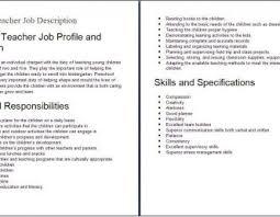 Dance Teacher Job De On Resume Help Preschool Teacher Assistant Job