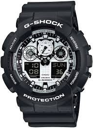 WATCH.UA™ - <b>Мужские часы Casio GA</b>-100BW-<b>1AER</b> цена 4050 ...