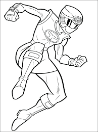 Coloring Pages For Kids Girl Power Rangers Mighty Morphin Power