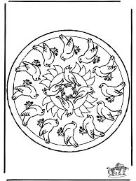 Mandala Uccelli Mandala Animali