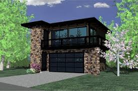 Garage Apartment Plans   Houseplans comModern Exterior   Front Elevation Plan       Houseplans com
