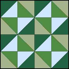 broken dishes block half square triangles free quilt block &  Adamdwight.com