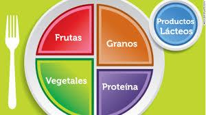 food plate in spanish. Beautiful Food Inside Obesity And Ethnicity And Food Plate In Spanish
