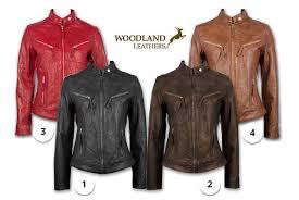 woodland leathers ltd womens full zip real