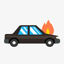 car with flames clipart.  Flames Demo Car Accident Car Clipart Car Fire PNG Image And Clipart For With Flames E