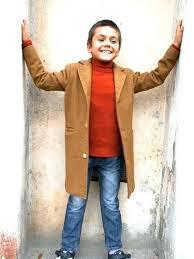 boys wool pea coat winter jacket toddler boy coat boys wool vintage warm long trendy kids