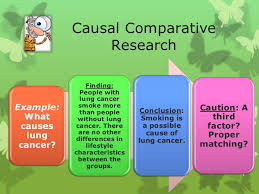 Causal Comparative Study Causal Comparative Research Ckv
