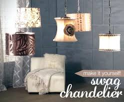 make your own chandelier kit a series of five pendants by lamps plus making chandelier diy make your own chandelier kit