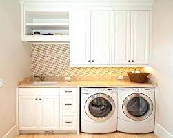 counter depth washer and dryer. Fine Washer Reduced Depth Washer Dryer And Cabinets Counter Room Over Best Images On  Rooms Throughout Counter Depth Washer And Dryer A