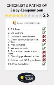 "essay company com reviews prices and discounts  lack of responsiveness and mediocre quality as a result we are assigning a rating of ""fair to poor "" we cannot recommend essay company com"