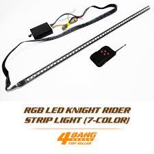 Knight Rider Running Light Strobe Knight Rider Light Kit Led 5050 48smd 7 Color Rgb Day