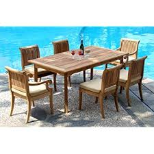 teak dining room table and chairs. Interesting And New 7 Pc Luxurious GradeA Teak Dining Set  94 On Room Table And Chairs I