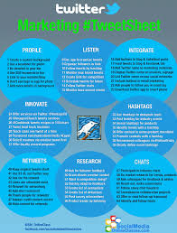 8 Infographics 100 Twitter Tips For Businesses Infographic