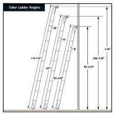 Ladder Height Chart