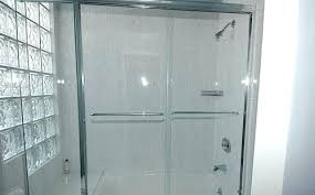 bathtub doors glass bath door screen folding bypass tub frameless canada