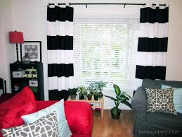 Diy Curtains Diy Painted Window Curtains Homey Oh My