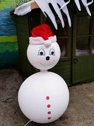 SNOWMAN Giant Large 3ft tall Christmas decoration