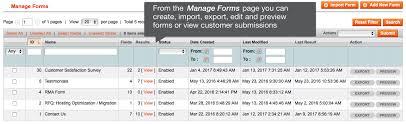 Webforms Pro 2 Form Builder For Magento 1 And Magento 2