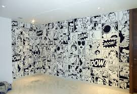 wallpaper for office wall. Comic Strip* - New Delhi Wallpaper For Office Wall