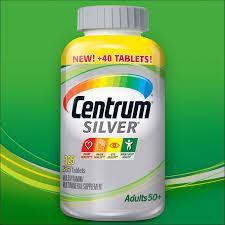 centrum silver s 50 325 tablets multivitamin multimineral supplement