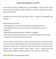 How To Write A Reject Job Offer Letter Accepting A Job Offer Letter