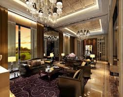 Living Room Pop Ceiling Design Luxury America Villa Living Room - Luxury house interiors