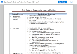 Famous Training Facilitator Guide Template Photos Example Resume