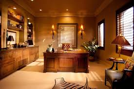 Classic Home Office Design Interior