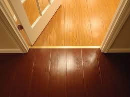 image of wood waterproof basement flooring