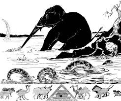 rudyard kipling biography facts com rudyard kipling s illustration for the elephant s child from just so stories 1902